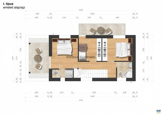 Eladó családi ház, Pécsett 59.5 M Ft, 4 szobás