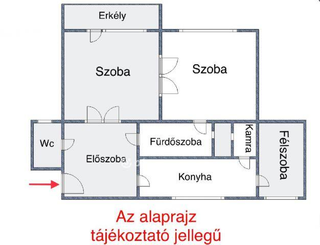 Kiadó téglalakás, albérlet, Budapesten, XIII. kerületben