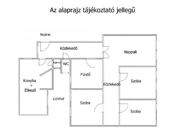 Eladó téglalakás, Budapesten, II. kerületben 89.9 M Ft, 4 szobás