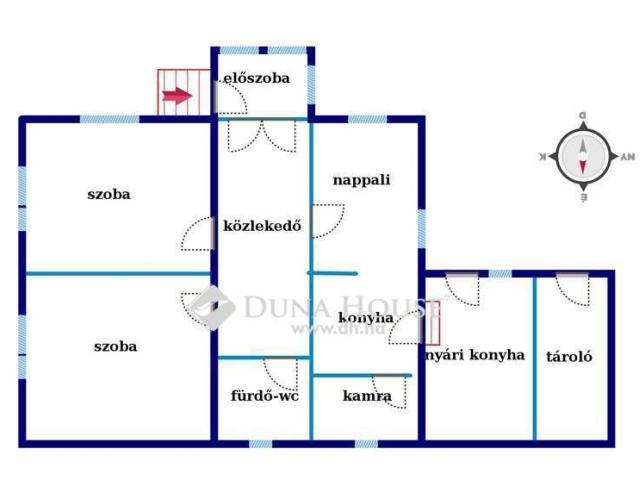 Eladó családi ház, Adácson 12.9 M Ft, 3 szobás