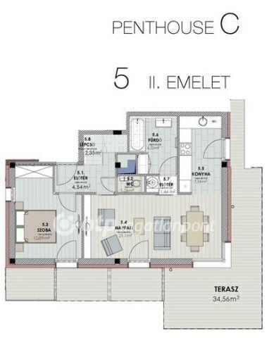 Eladó téglalakás, Siófokon 99.9 M Ft, 3 szobás