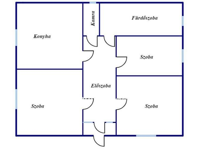 Kiadó családi ház, albérlet, Polgáron 130 E Ft / hó, 3 szobás
