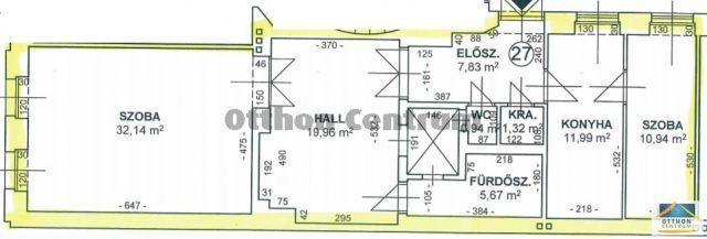 Eladó téglalakás, Budapesten, V. kerületben 85 M Ft, 2 szobás