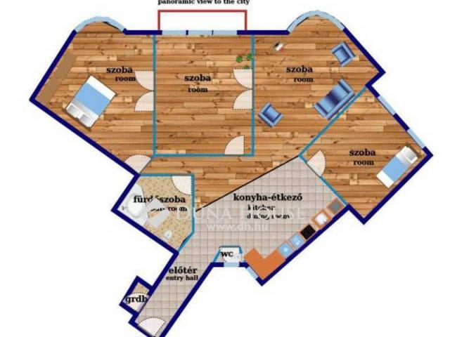 Eladó téglalakás, Budapesten, VI. kerületben 199.894 M Ft