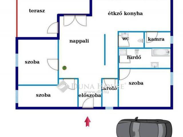 Eladó családi ház, Zsámbékon 53.9 M Ft, 4 szobás