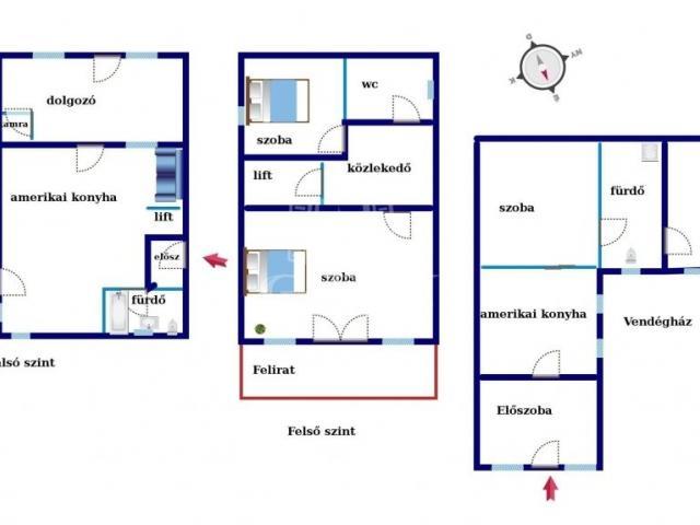 Eladó családi ház, Balatonalmádiban 99 M Ft, 7 szobás