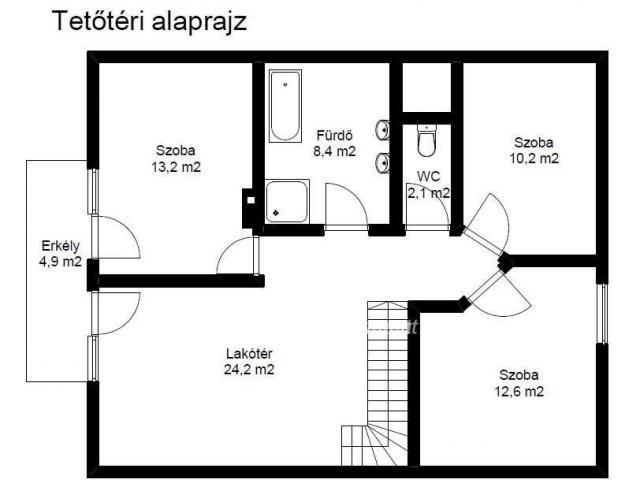 Eladó ikerház, Tamásiban 44 M Ft, 4+2 szobás