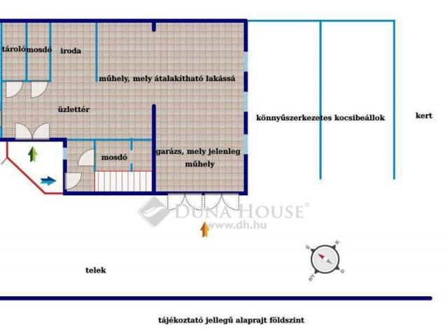 Eladó ikerház, Törökbálinton 66.9 M Ft, 4 szobás
