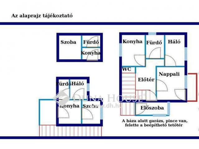 Eladó családi ház, Csobánkán 45.9 M Ft, 5 szobás