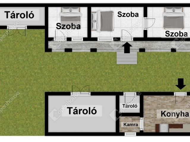 Eladó családi ház, Bogácson 13.9 M Ft, 3 szobás