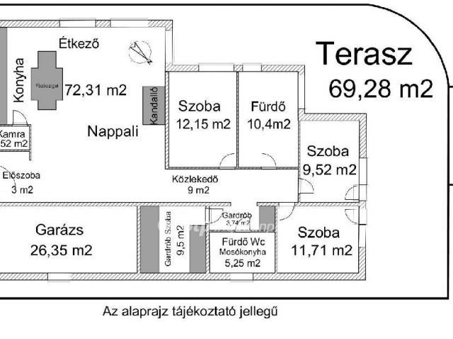 Eladó családi ház, Pécelen 74.9 M Ft, 2+2 szobás