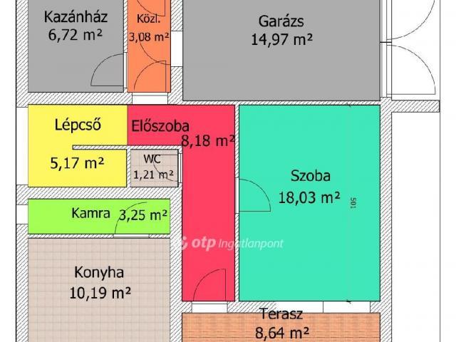 Eladó családi ház, Litkén 13.9 M Ft, 4 szobás