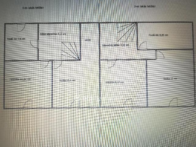 Eladó téglalakás, Keszthelyen 39.9 M Ft, 2+1 szobás