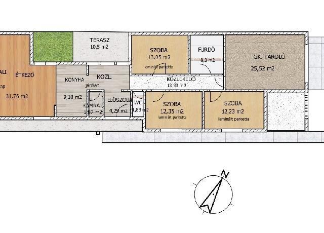 Eladó családi ház, Alsónémediben 88.9 M Ft, 4 szobás