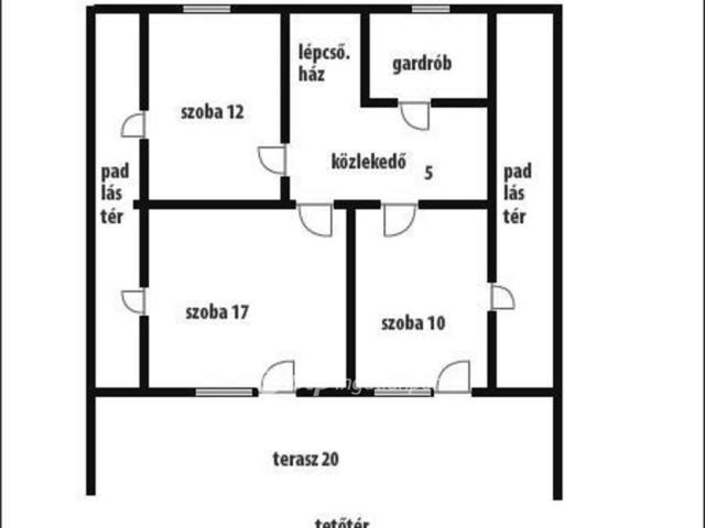 Eladó családi ház, Zselickislakon 13.5 M Ft, 4+1 szobás