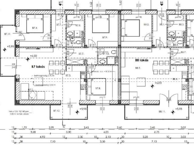 Eladó téglalakás, Nagykanizsán 36.1 M Ft, 1+3 szobás