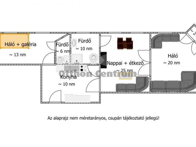 Eladó téglalakás, Budapesten, VII. kerületben 84.5 M Ft