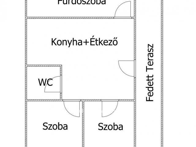 Eladó családi ház, Fonyon 34 M Ft, 2 szobás