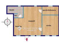 Eladó ikerház, Vecsésen, Mária utcában 46.5 M Ft, 2 szobás