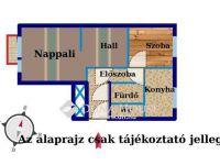 Eladó panellakás, Ajkán 13.8 M Ft, 2 szobás