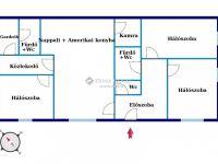 Eladó családi ház, X. kerületben 239.5 M Ft, 13+1 szobás