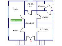 Eladó családi ház, Vattán 9.5 M Ft, 3 szobás
