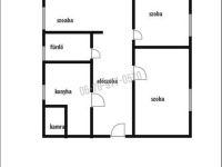 Eladó téglalakás, Ácson 16.5 M Ft, 3 szobás