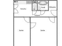 Kiadó panellakás, albérlet, Kecskeméten 80 E Ft / hó, 2 szobás