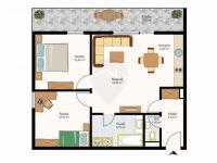 Eladó téglalakás, Tatabányán 33.9 M Ft, 3 szobás
