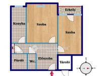 Eladó panellakás, Zalaegerszegen 13.3 M Ft, 2 szobás