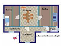 Eladó családi ház, Kömlődön 13.9 M Ft, 2 szobás