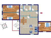 Eladó ikerház, Szombathelyen 42.3 M Ft, 4 szobás