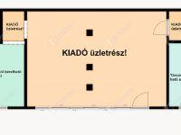 Kiadó üzlethelyiség, Tatabányán 100 E Ft / hó, 1 szobás
