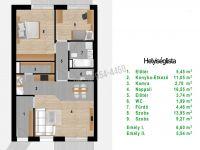 Eladó téglalakás, XVI. kerületben 56.64 M Ft, 3 szobás