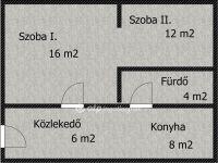 Eladó téglalakás, Kaposváron 3.9 M Ft, 1+1 szobás